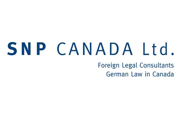SNP CANADA Ltd. German law in Canada